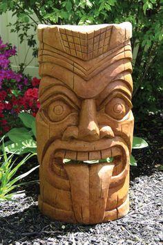 Exemple de Tiki sculpté