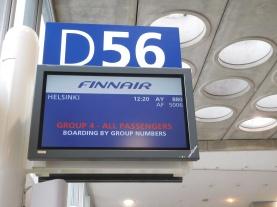 1er vol pour Helsinki