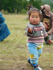 Petite fille tsaatane