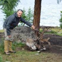 Mat avec un renne