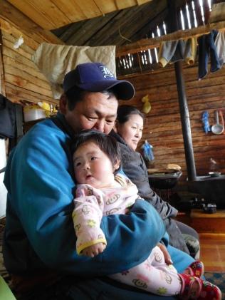 Les papas mongols sont très présents