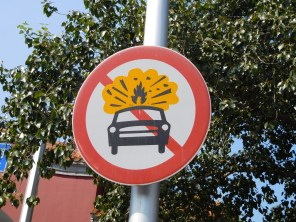 Interdit de faire exploser sa voiture?