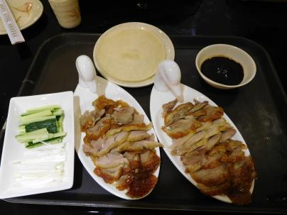 Canard laqué à Pékin