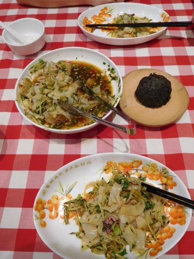 Salade de nouilles froides à Xi'an