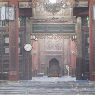 Salle de prière au bout de la 5ème cour