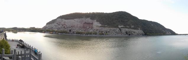 Vue d'ensemble de la rive ouest
