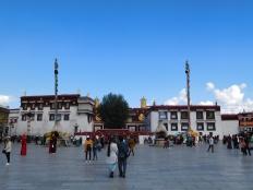 Vue du Jokhang de face