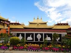 Vue d'en haut du Jokhang