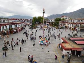 Barker square devant le Jokhang