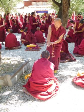 Débat de moines