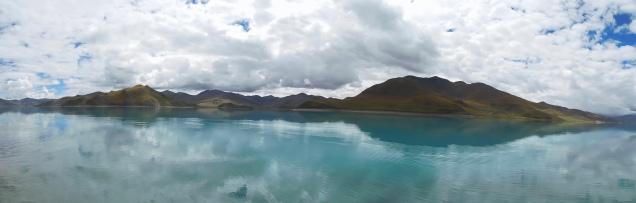 Lac sacré de Yamdrok