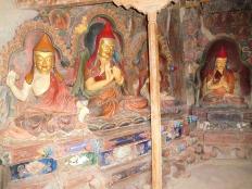 Une des chapelles du Stupa