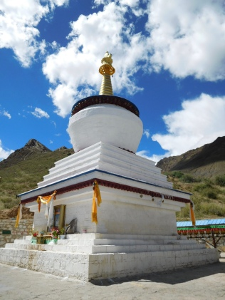 Stupa sur le kora