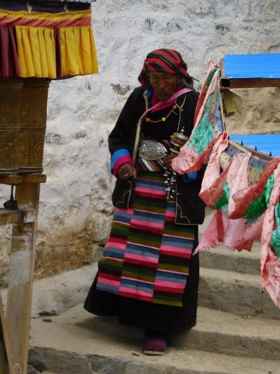 Tibétaine sur le kora