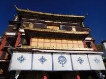 Entrée du temple principal