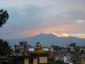 Vue sur la vallée de Kathmandu