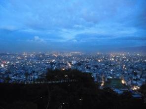 Vue sur Kathmandu