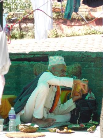 Rencontre avec un Brahman