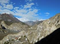 Vue sur Braka et la vallée côté ouest