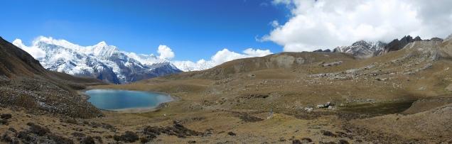 Panorama sur l'Ice Lake