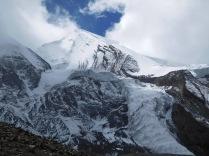 Le glacier de Thorung La
