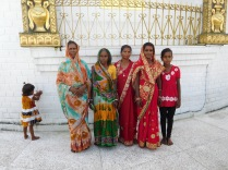 Famille indienne en pèlerinage