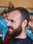 La barbe avant