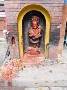 L'un des innombrables autels à chaque coin de rue