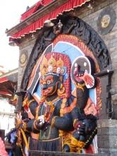 Kala (noir) Bhairab (Shiva sous sa forme effrayante)