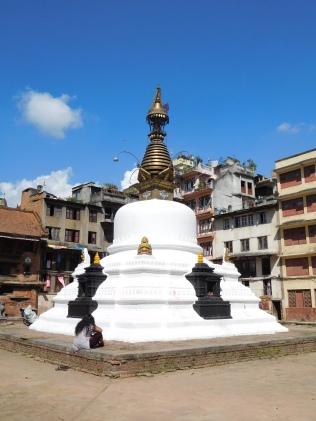 Stupa de la place Yatkha (plus vieille place bouddhique de la ville)