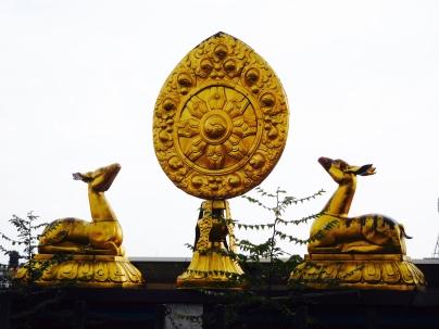 Le daim, symbole du bouddhisme