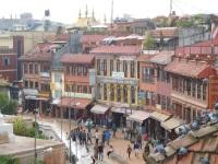 Quartier tibétain autour du stupa