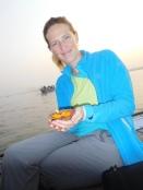 Offrande au Gange