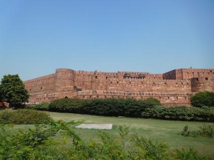 Vue du fort d'Agra