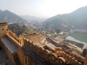 vue depuis les remparts du palais