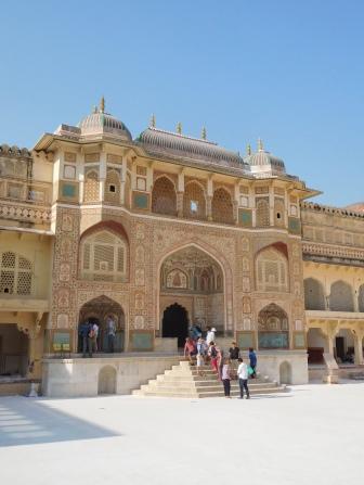 Entrée principale du palais du XVIIème siècle