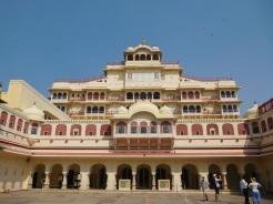 La partie du palais royal encore habitée par les descendants de la famille royale