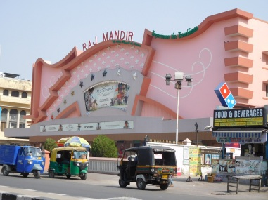 Extérieur du Raj Mandir