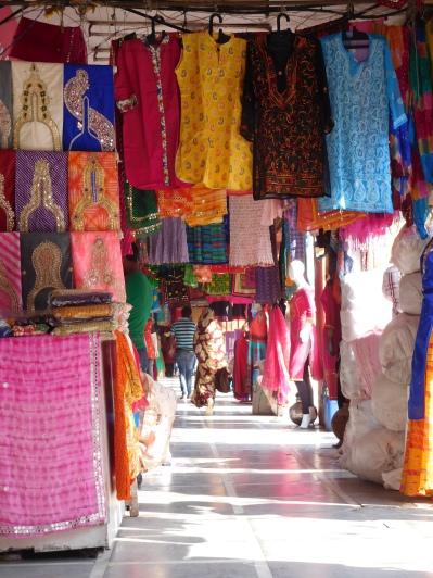 l'un des nombreux bazars