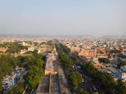 Jaipur, ville verte