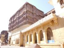 Intérieur de la forteresse