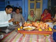 Diwali avec la famille