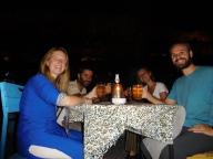 Repas avec Mathieu et Clémence