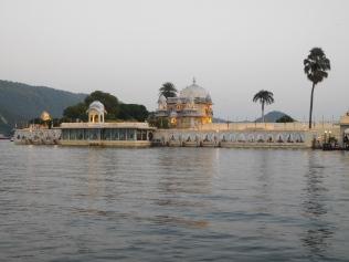 Le plus luxueux des hôtels d'Udaipur (600€ la nuit)