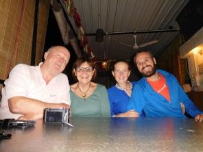 Excellente soirée avec Cathy et Richard