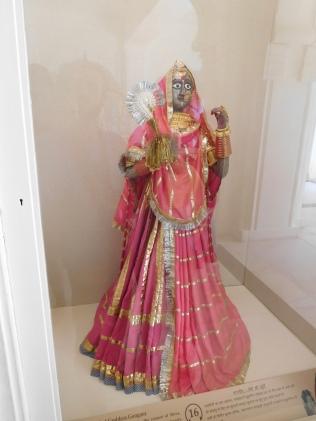Représentation de Devi en Durga