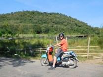 le fameux scooter