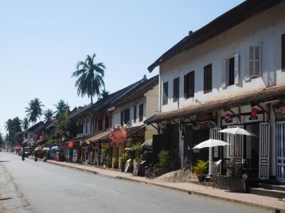 Rue principale de Luang Prabang