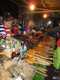 Marché de nuit de Luang Prabang