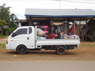Transport à la mode Lao